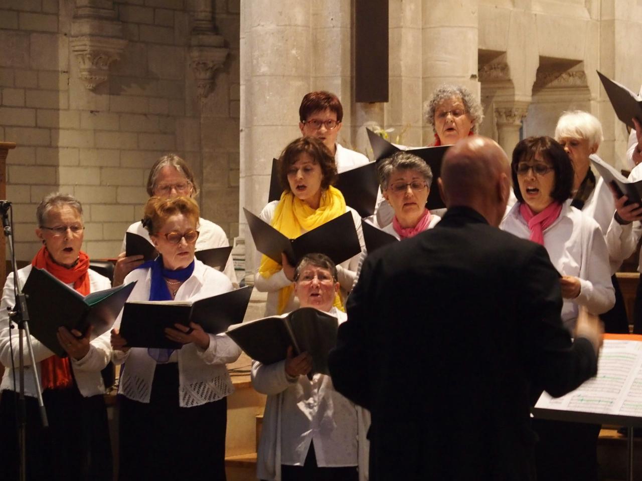 Concert du 3juin église Saint Laurent de Blain